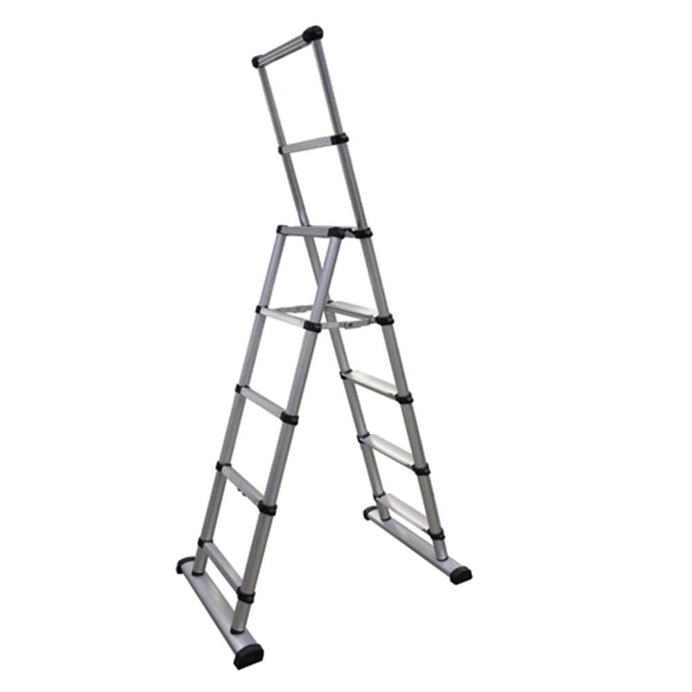 Telesteps 1400e 28 10 5 Telescopic Ladder 250 Lbs Rating