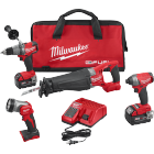Milwaukee M18 FUEL™ 4-Tool Combo Kit 2896-24