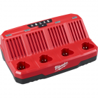 Milwaukee 48-59-1204 M12™ Four Bay Sequential Charger