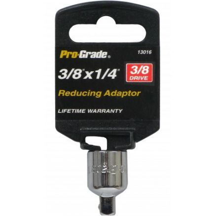 "Pro-Grade 3/8"" Drive 3/8"" x 1/4"" Reducing Adaptor - 13016"