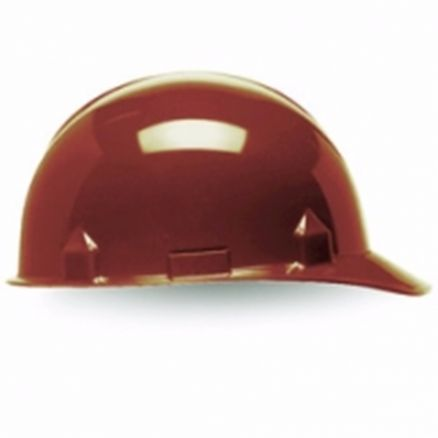 Jackson Products SC-6 4-Point Brown Ratchet Hard Hat - 14836