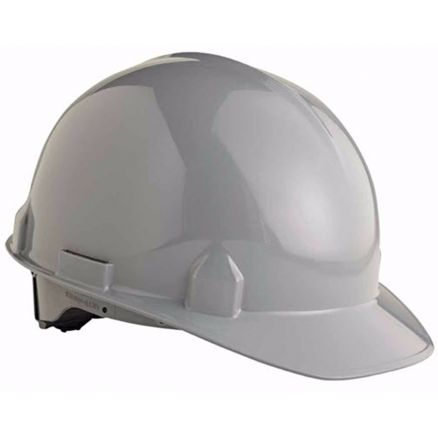 Jackson Products SC-6 4-point Gray Ratchet Hard Hat - 14842a
