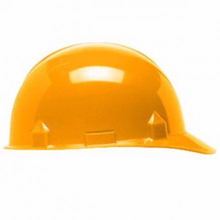 Jackson Products SC-6 4-Point Safety Orange Ratchet Hard Hat - 14843
