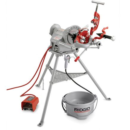 Ridgid Power Drive 300 Complete Pipe Threading Machine - 15682
