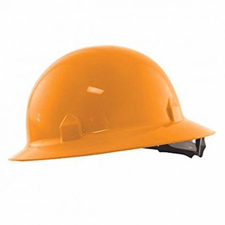 Jackson Safety Block Head Hi-Vis Full Brim Hard Hat 8-Point Ratchet Suspension - 20738