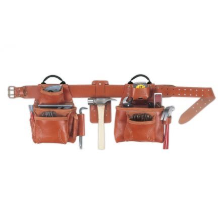 Custom LeatherCraft 4-Pc. Pro Framer's Combo Tool Belt - 21448