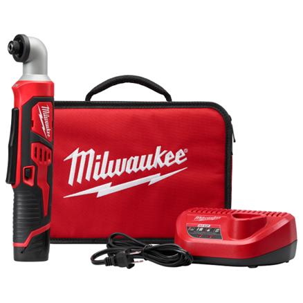 "Milwaukee M12™ 1/4"" Hex Right Angle Impact Driver Kit 2467-21"
