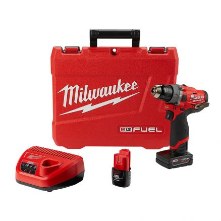 "Milwaukee 2504-22 M12 FUEL™ 1/2"" Hammer Drill Kit"