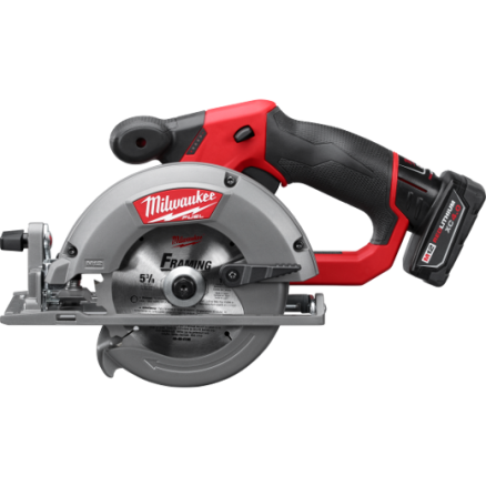 "Milwaukee M12™ FUEL 5-3/8"" Circular Saw Kit - 2530-21XC"