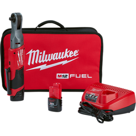 "Milwaukee M12™ FUEL™ 3/8"" Ratchet Kit 2557-22"