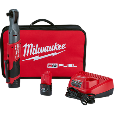 "Milwaukee M12™ FUEL™ 1/2"" Ratchet Bare Tool 2558-22"