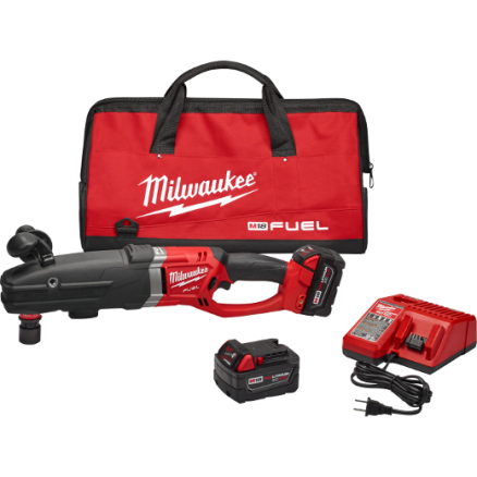 Milwaukee 2711-22 M18 FUEL™ SUPER HAWG™ Right Angle Drill w/ QUIK-LOK™ Kit