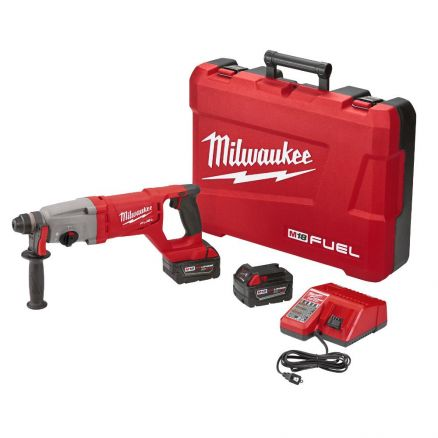 "Milwaukee M18 FUEL™ 1"" SDS Plus D-Handle Rotary Hammer Kit 2713-22"