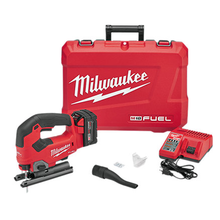 Milwaukee 2737-21 M18 FUEL™ D-Handle Jig Saw Kit