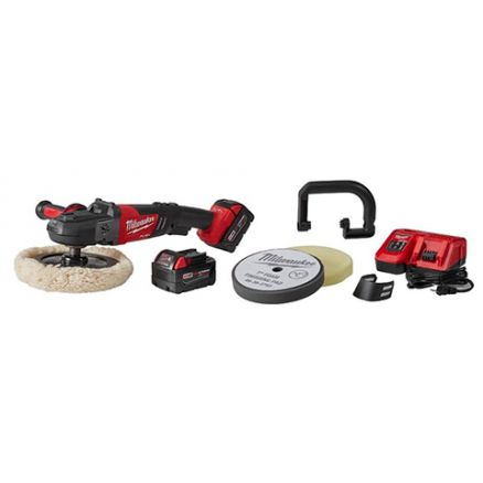 "Milwaukee M18 FUEL™ 7"" Variable Speed Polisher Kit w/ Pads 2738-22P"