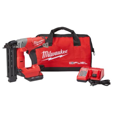 Milwaukee M18™ FUEL™ 18-Gauge Brad Nailer Kit 2740-21CT