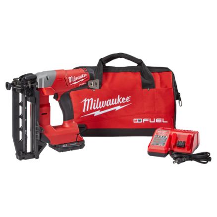 Milwaukee M18™ FUEL™ 16-Gauge Straight Finish Nailer Kit 2741-21CT