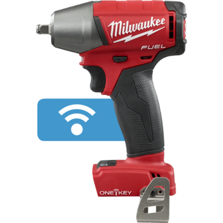 "Milwaukee M18 FUEL™ 3/8"" Compact Impact Wrench w/ Friction Ring with ONE-KEY™ (Tool Only) 2758-20"