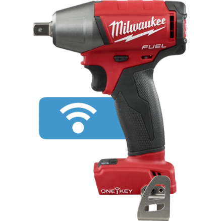"""Milwaukee M18 FUEL™ 1/2"""" Compact Impact Wrench w/ Pin Detent & ONE-KEY™ (Tool Only) 2759-20"""