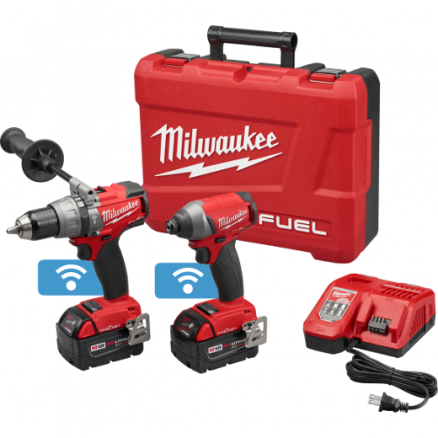 Milwaukee 2795-22 M18 FUEL™ 2-Tool Combo Kit with ONE-KEY™