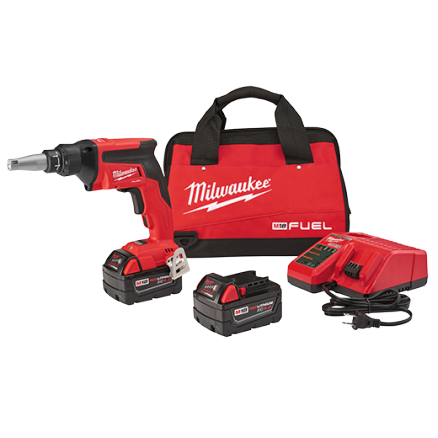 Milwaukee M18 FUEL™ Drywall Screw Gun Kit 2866-22