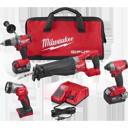 Milwaukee M18 FUEL™ 4-Tool Combo Kit 2896-24