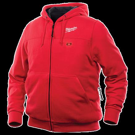Milwaukee 302R-21XL M12™ Heated Hoodie Kit - Red