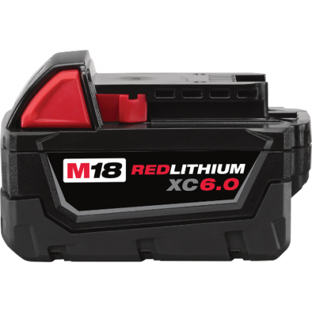 Milwaukee 48-11-1860 M18™ REDLITHIUM™ XC6.0 Battery Pack