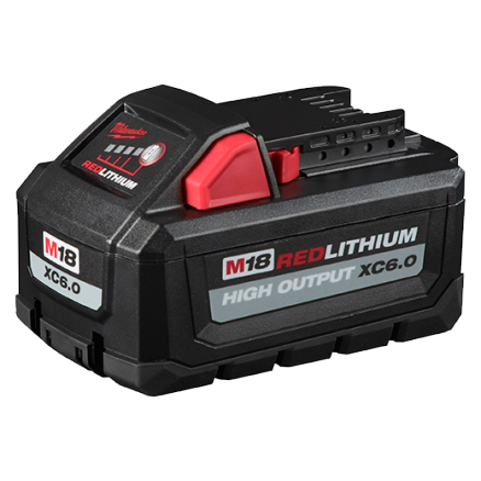 Milwaukee 48-11-1865 M18 REDLITHIUM™ HIGH OUTPUT™ XC6.0 Battery Pack