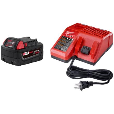 Milwaukee 48-59-1850 M18™ REDLITHIUM™ XC5.0 System Starter Kit