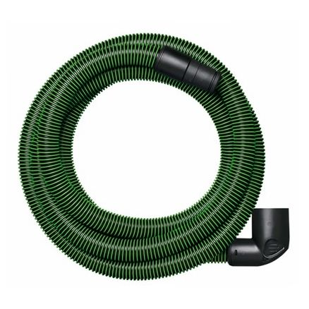 Festool Anti-Static Hose, Tapered D32/27 with Angle Adapter - 11.5' - 499742