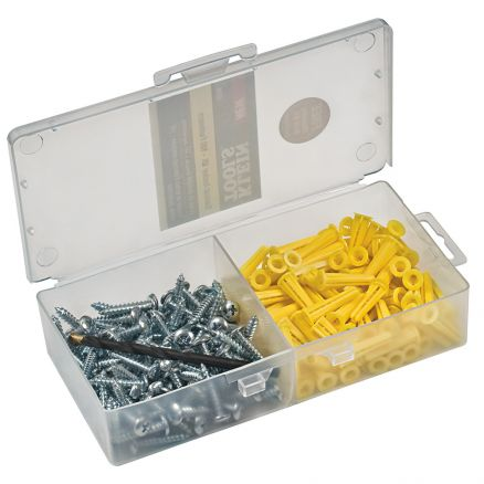 Klein Tools Conical Anchor Kit 100-Anchors - 53729