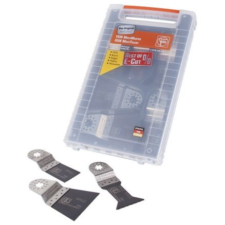 Fein Best of E-Cut Oscillating Blade Set - 63502160140
