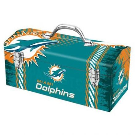 Sainty Art Works Miami Dolphins Tool Box - 79-316