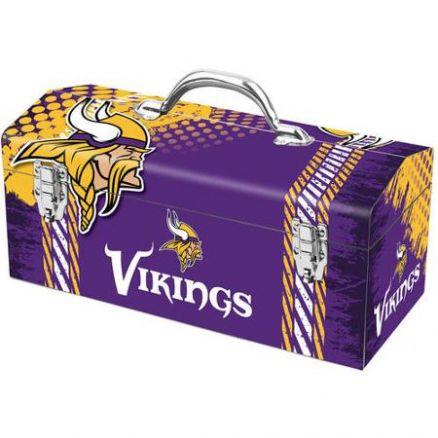 Sainty Art Works Minnesota Vikings Tool Box - 79-317