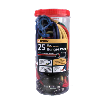 CargoLoc 25-Pc. Bungee Cord Pack - 84076