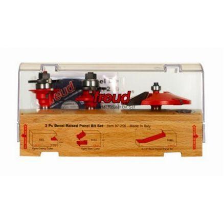 Freud 3-Piece Cabinet Bit Set - 97-200