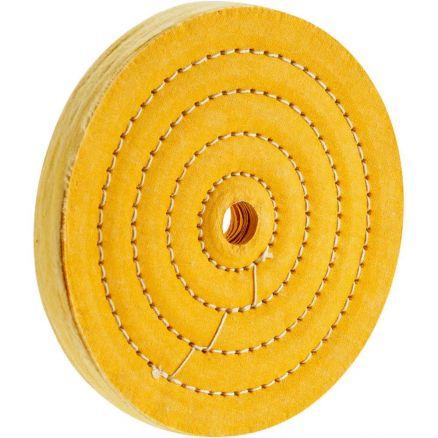 "Woodstock D3191 6"" x 50 Ply x 5/8"" Hole Buffing Wheel"