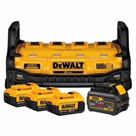 DeWalt 1800 Watt Portable Power Station and Battery Charger - DCB1800M3T1