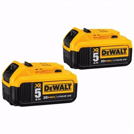 DeWalt 20 Volt 5.0 Battery 2-Pack - DCB205-2