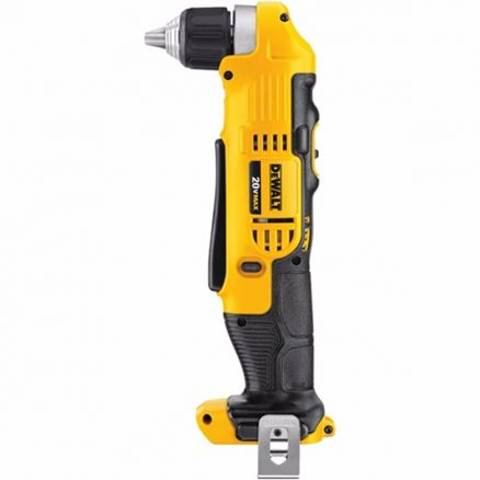 "DeWalt 20 Volt 3/8"" Right Angle Drill (Bare Tool) - DCD740B"