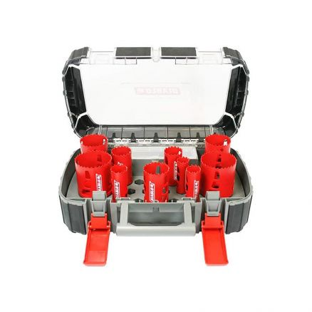 Freud Diablo 14-Piece High Performance Hole Saw Set - DHS14SGP