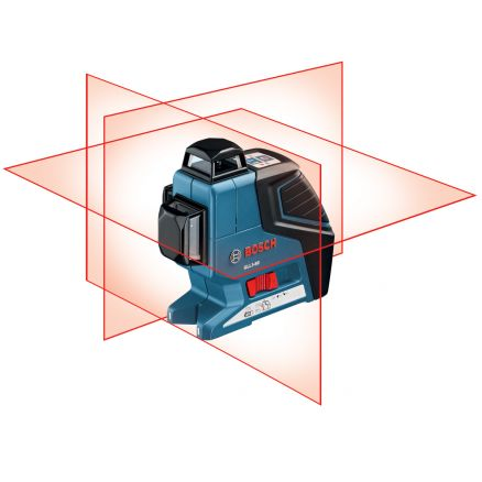 Bosch 360° Three-Plane Leveling and Alignment-Line Laser - GLL3-80