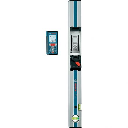 """Bosch Laser Measure with 24"""" Digital Level Attachment - GLM80+R60"""