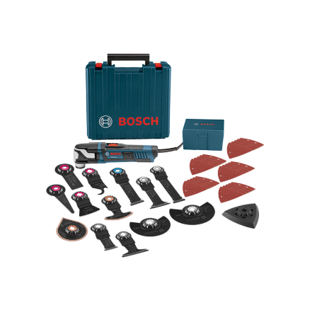 Bosch 40-Piece StarlockMax Oscillating Multi-Tool Kit - GOP55-36C2