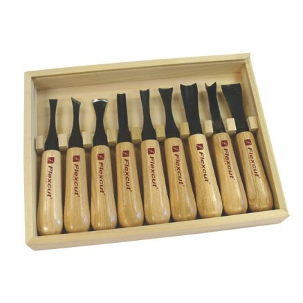 Flexcut Deluxe Carving Tool Set - LH100