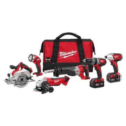 Milwaukee M18™ 6 piece Tool Combo Kit - 2696-26