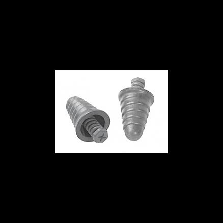 3M E-A-R™ Skull Screws™ Uncorded Earplugs, Gray - P1300