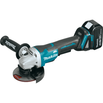 "Makita 18V 4-1/2"" Brushless Grinder - XAG06MB"