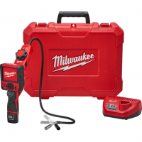 Milwaukee M12™ M-SPECTOR FLEX™ 3-Ft. Inspection Camera Cable w/ PIVOTVIEW™ Kit 2317-21